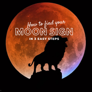 how to find your moon sign